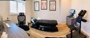chiropractic room